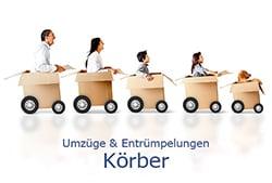 Logo von Körber Entrümpelungen und Umzüge bzw. Gebrauchtwarenladen, Möbel & Accessoires